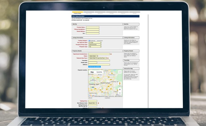 Fill in Your Property Details