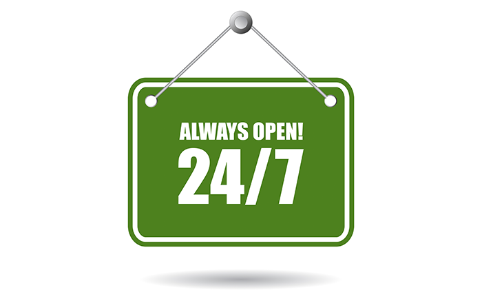 Always ready to welcome home buyers 24/7, wherever, whenever