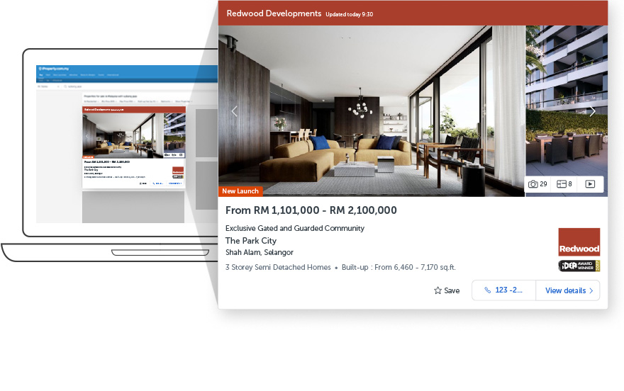 Platinum Listing – First to be seen - Lead generation